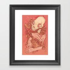 Never odd or even Framed Art Print