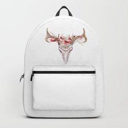 Poppy Tribal Skull Backpack