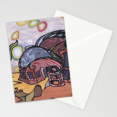 dream house Stationery Cards