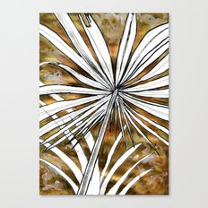 Golden Palm Canvas Print