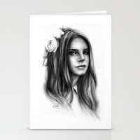 lana Stationery Cards featuring LANA by Laura Catrinella