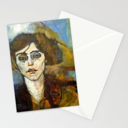 "Amedeo Modigliani ""Portrait of Maude Abrantes"" Stationery Cards"