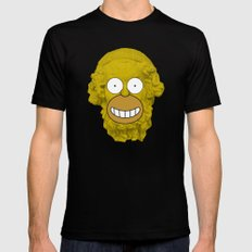 Homer's Odyssey LARGE Mens Fitted Tee Black