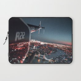 helicopter in london Laptop Sleeve