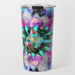 Dark Unicorn Mandala Travel Mug