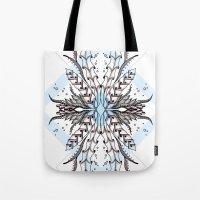 underwater Tote Bags featuring Underwater by Barlena