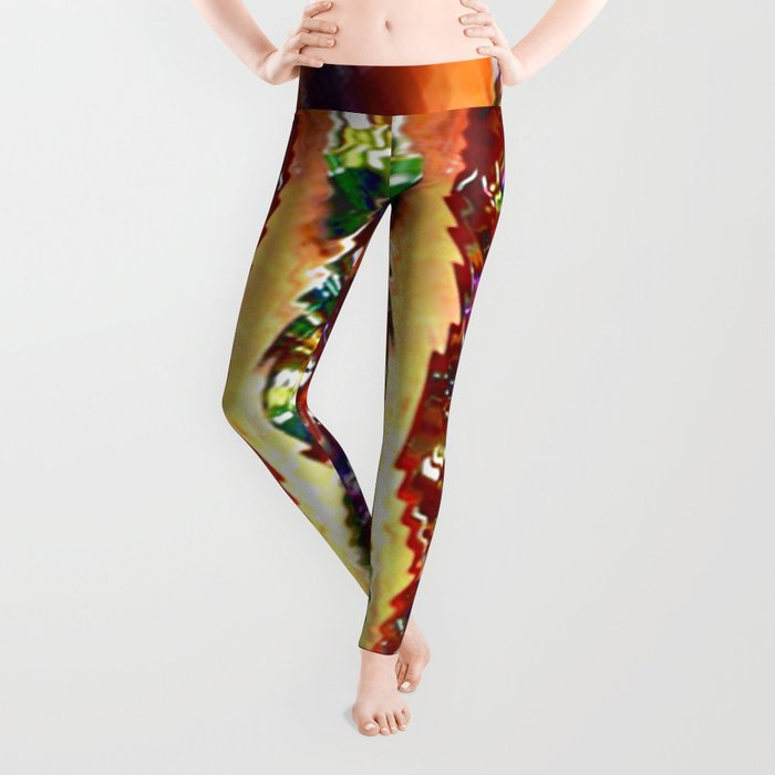 Wind Chimes Leggings