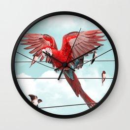 COLORFUL STRANGER Wall Clock
