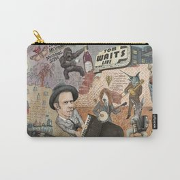 Tom Waits' Melodramatic Nocturnal Scene Carry-All Pouch