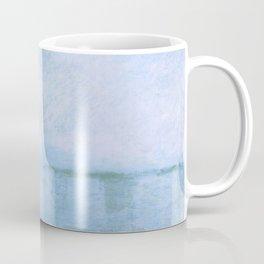 "Claude Monet ""Charing Cross Bridge. Fog on the Thames"" (1903) Coffee Mug"