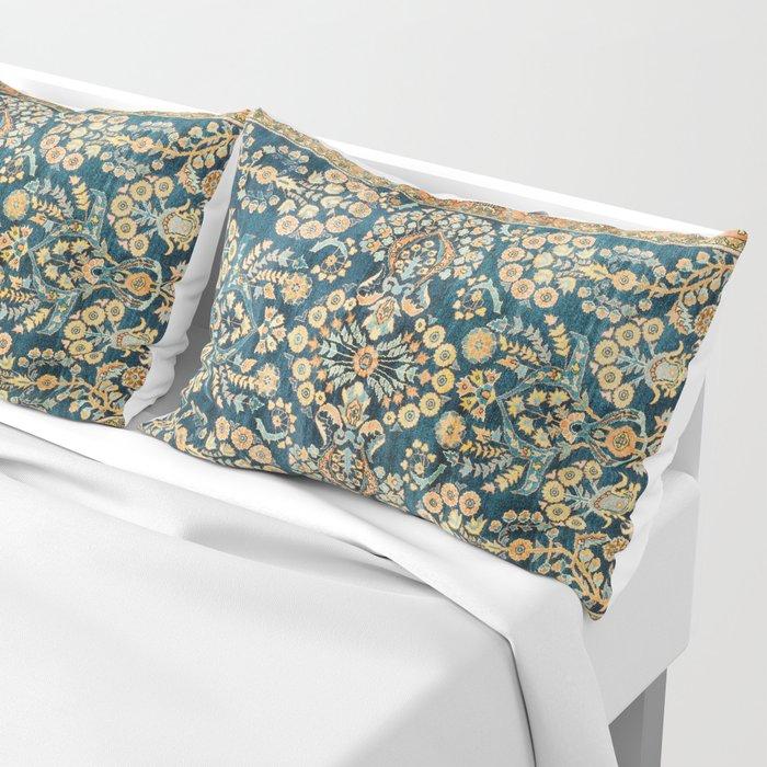 Sarouk  Antique West Persian Rug Print Pillow Sham