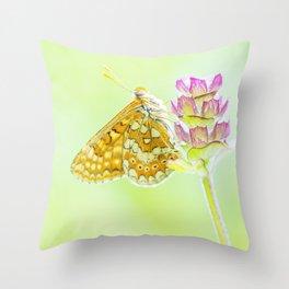 Spring beauties - Nature Fine Art photography Throw Pillow