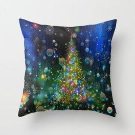 Chrismas Tree  2 Throw Pillow