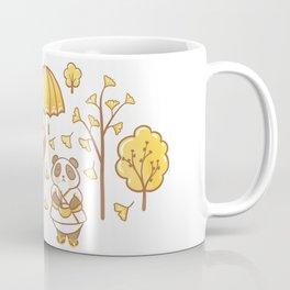 Pandas and ginkgo Coffee Mug