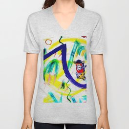 Time to get Started!         by Kay Lipton Unisex V-Neck