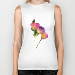 Flowers from nothing Biker Tank