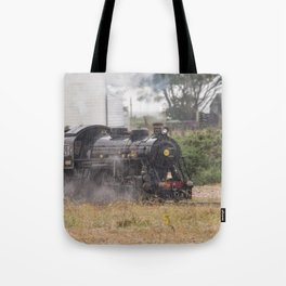 Train In Dungeness Kent Tote Bag