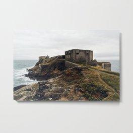 Fort of Kermovan in Brittany Metal Print