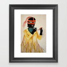 Lionel The Circus Freak Framed Art Print