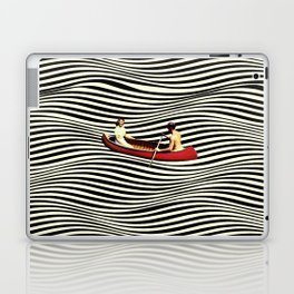 Illusionary Boat Ride Laptop & iPad Skin