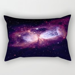 Galaxy : Celestial Storm Rectangular Pillow