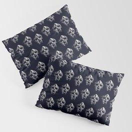Doom Mask Melting Pillow Sham