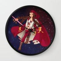 jedi Wall Clocks featuring Jedi Jade by Cola82