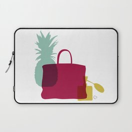 Moments with pineapple, birkin and perfume Laptop Sleeve
