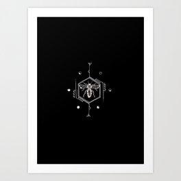 Buzzing Art Print