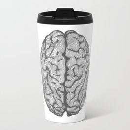 Brain vintage illustration Travel Mug