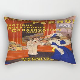 Vintage poster - Biscuits Pernot Rectangular Pillow