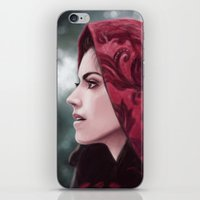 ruby iPhone & iPod Skins featuring Ruby by Svenja Gosen
