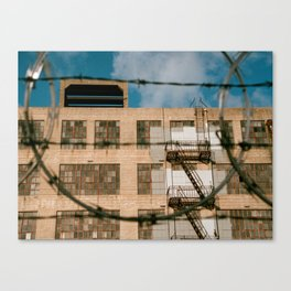 Historic Lawrence Warehouse Canvas Print