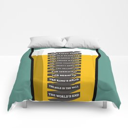 The Golden Mile Comforters