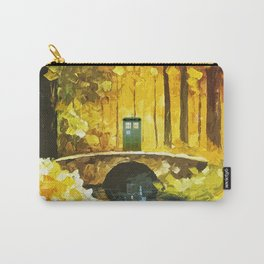 Tardis At The River Bridge Carry-All Pouch