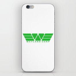 Weyland Corp - Green iPhone Skin