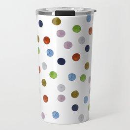 Pinpoint Dots Travel Mug