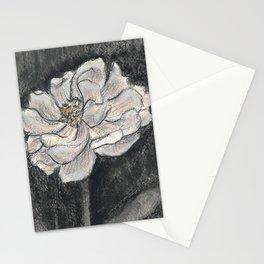 Peony Flower Stationery Cards