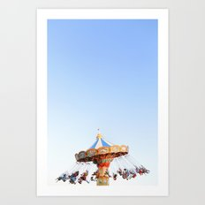 Santa Cruz Boardwalk Series 7 Art Print