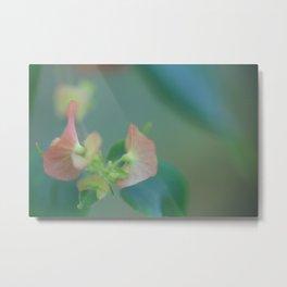 FLOWER PILL 2 Metal Print
