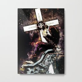 Trigun   Nicholas D Wolfwood Metal Print