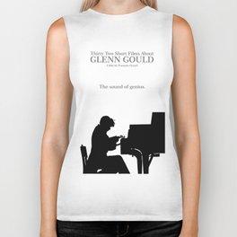 Glenn Gould, Thirty two short films about Glenn Gould,  François Girard, music poster, piano design Biker Tank