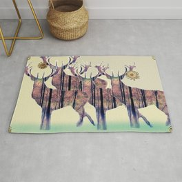 Fine Stags Rug