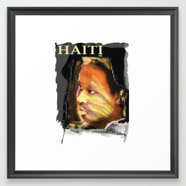 Haiti Portraits / 06 / Series / 4 Framed Art Print