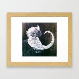 Beard Web Framed Art Print