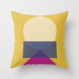 Cirkel is my friend V5 Throw Pillow