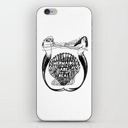 Mermaids Are Real iPhone Skin
