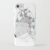 fawn iPhone & iPod Cases featuring Fawn by Cassandra Jean