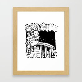 Dream: New Year Framed Art Print