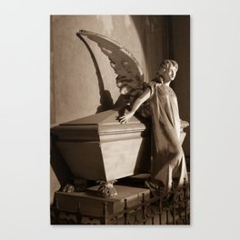 Milano Angel Canvas Print